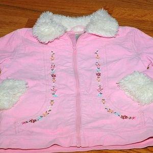 Gymboree Park City Luxe Pink Jacket/Coat sz 12 LNC